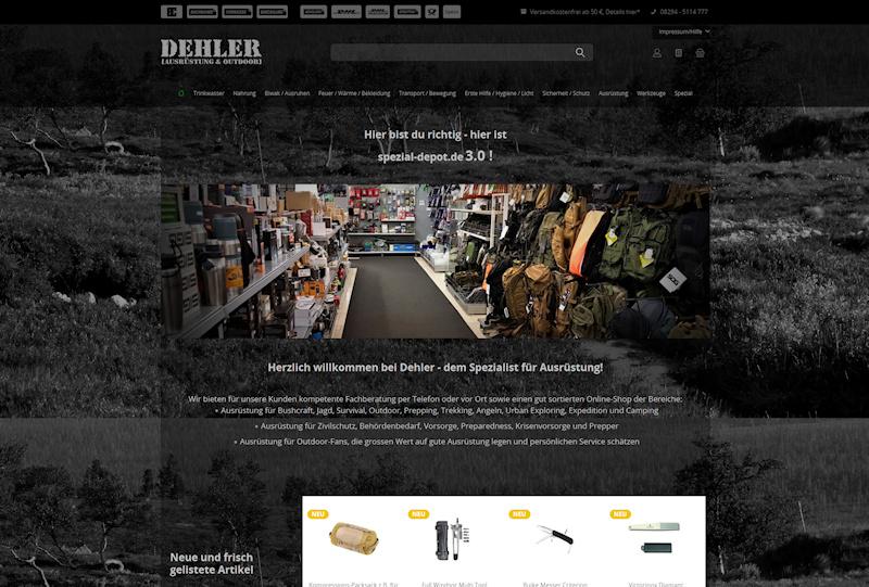 Neuer Shop Für Outdoor Ausrüstung Survival Depotde News Blog